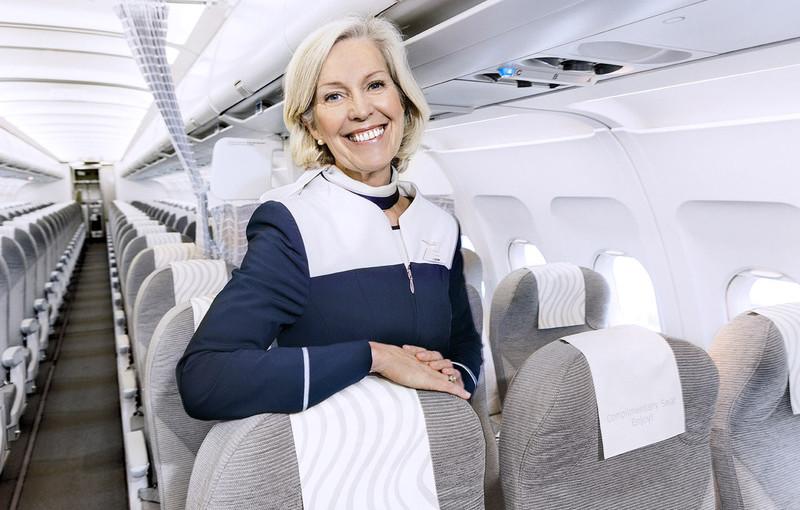 Finnair cabin crew Airbus A320