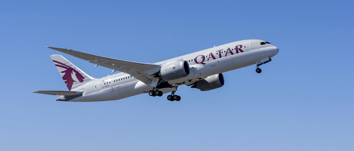 Qatar Airways Dreamliner