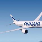 Finnair A350 airborne