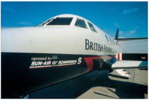 British Airways og Sun-Air fejrer 20 års partnerskab i år.