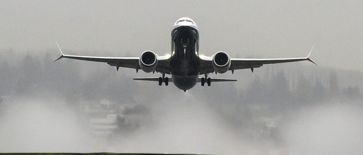 Boeing 737MAX-8 (Foto: Matthew Thompson/Boeing)