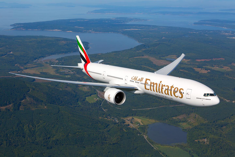Billede: Emirates Boeing 777 (foto: Emirates)