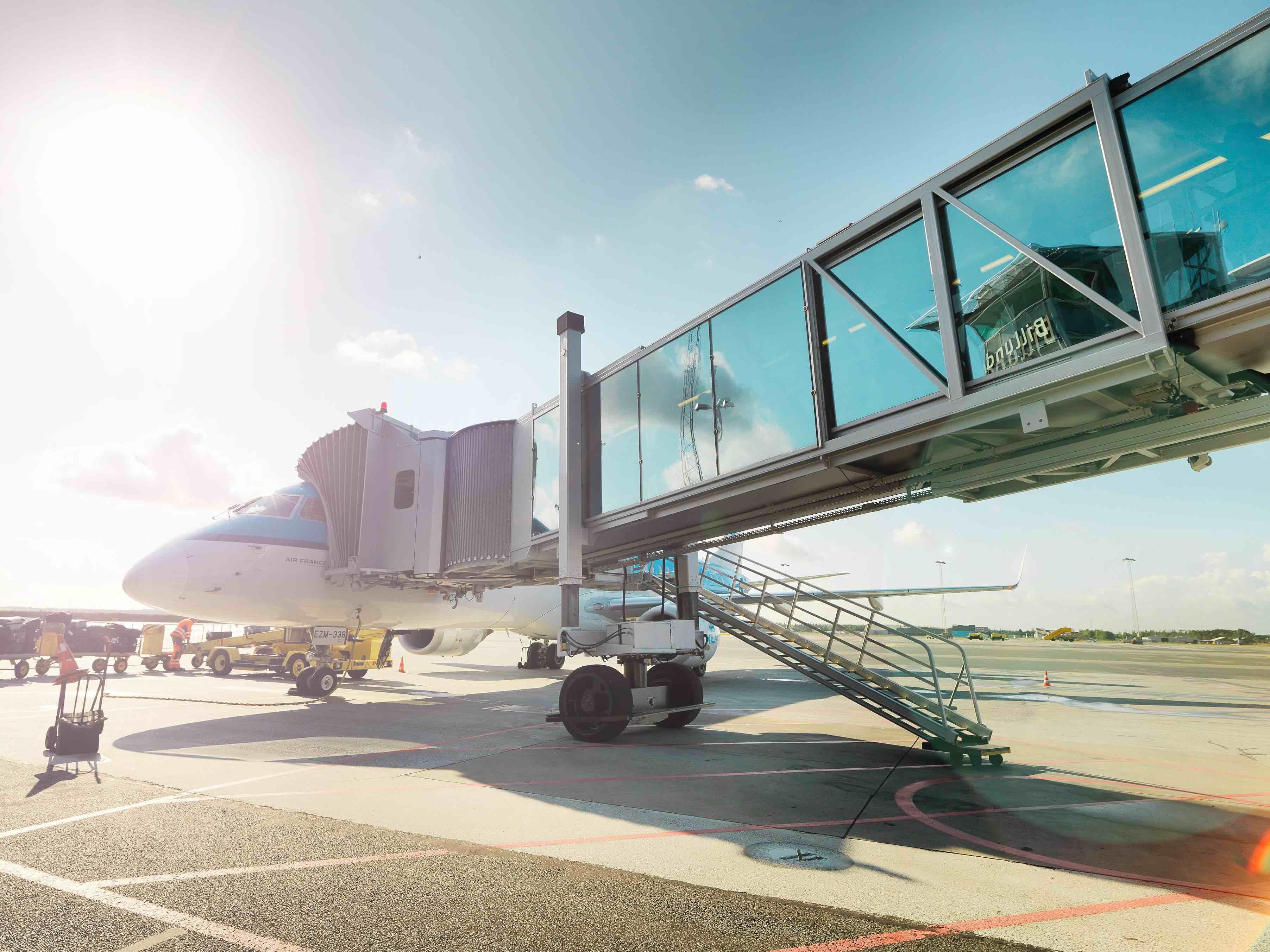 KLM fly i Billund Lufthavn (foto: Billund Lufthavn)